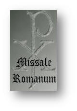 Missale Romanum - Roman Missal in Latin and English  1962 Edition