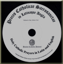 Free CD: Learn basic Catholic prayers by listening to them in Latin and English - or download prayers as audio files