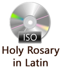 Holy Rosary in Latin