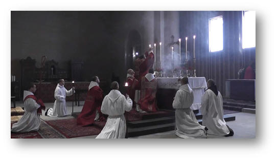 The Most Holy Sacrifice of the Mass