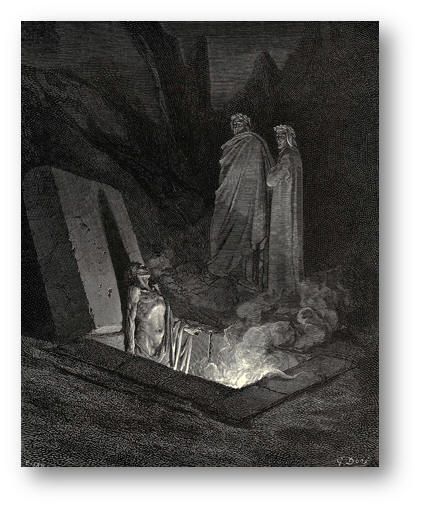 Hell  —  from Dante's Inferno