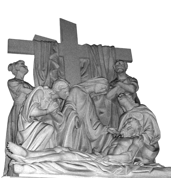 13th Station: Jesus is Taken Down from the Cross.