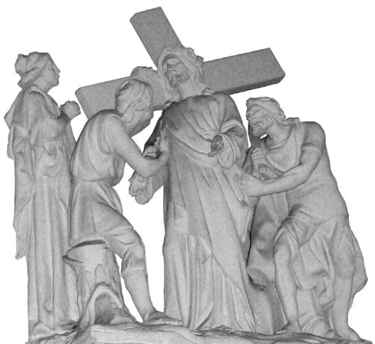 Second Station: Jesus takes His Cross.