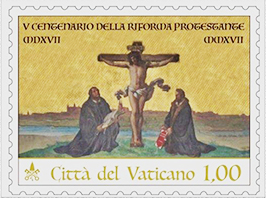 Vatican-issued Martin Luther Commemorative Stamp